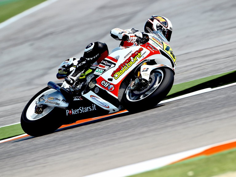 Randy de Puniet in action at Misano