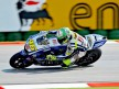 Valentino Rossi on track at Misano