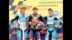 Terol, Marquez and Vazquez on the podium at Misano