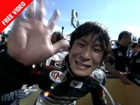 Shoya, on the track and beyond, we will always follow your line