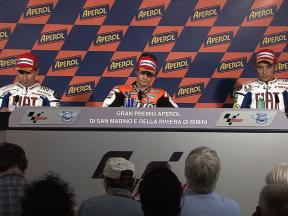 Misano Race Press Conference