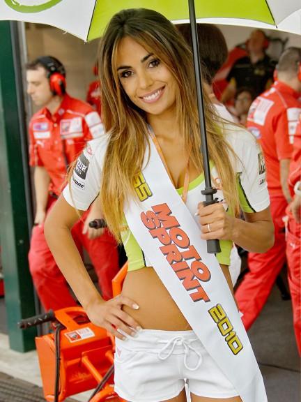 Paddock Girl at the GP Aperol di San Marino e della Riviera di Rimini