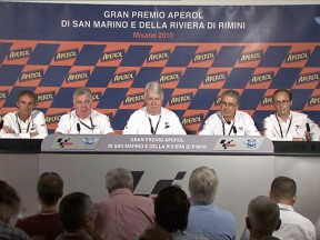 Race Direction press conference at Misano