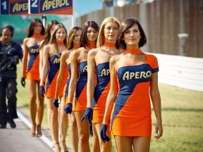 Paddock Girls at the GP Aperol di San Marino e della Riviera di Rimini