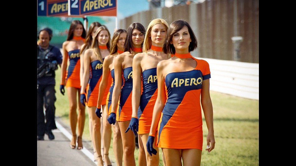 Paddock Girls at the GP Aperol di San Marino e della Riviera di Rimini