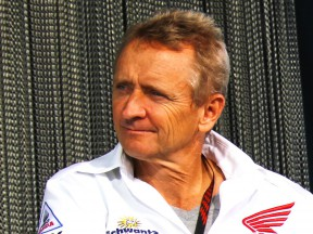 1993 500cc World Champion Kevin Schwantz