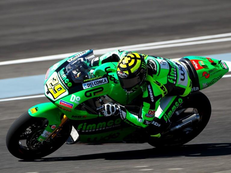 Moto2 rider Andrea Iannone