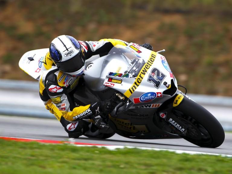 Moto2 rider Thomas Lüthi
