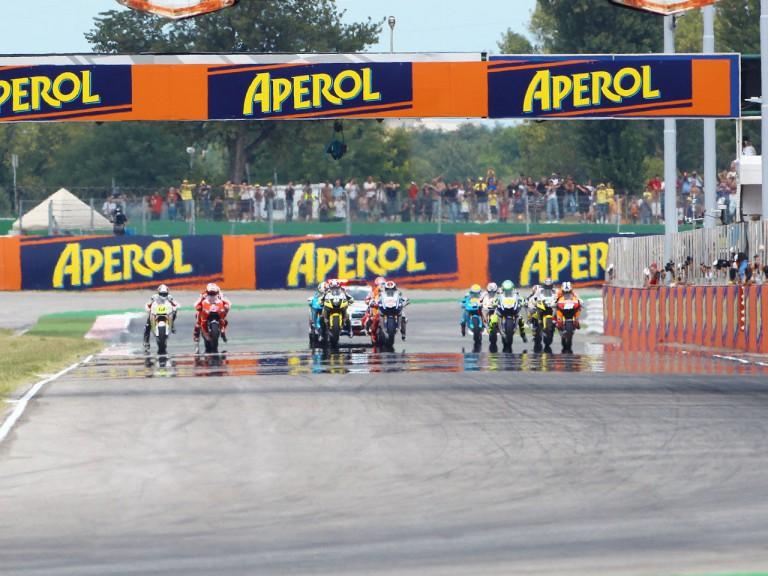 MotoGP Race starts at the GP Aperol di San Marino e della Riviera di Rimini