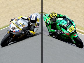 Moto2 riders Luthi and Iannone