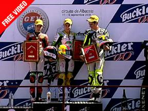 2010 - CEV Buckler - Round 5 - Albacete Highlights - 125cc