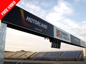 New for 2010... The Motorland Aragon circuit