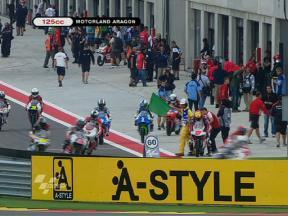 Aragon 2010 - 125cc - FP1 - Full session