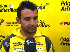 Barbera happy with first run at Aragon