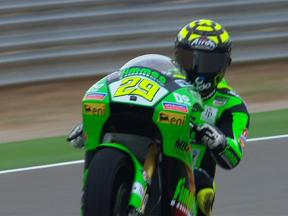 Aragon 2010 - Moto2 - FP1 - Highlights