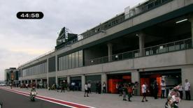 La primera sesión libre de la categoría reina ha visto el dominio de entrada  del piloto barcelonés en el circuito aragonés, por delante de Hayden y Lorenzo.
