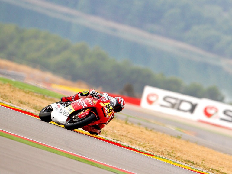 Kev Coghlan in action at Motorland Aragon