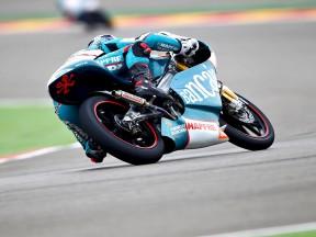Nico Terol in action at Motorland Aragón