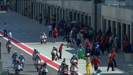 合同テストとフリー走行を制したポイントリーダーが、今季8度目となるポールポジションを獲得した。