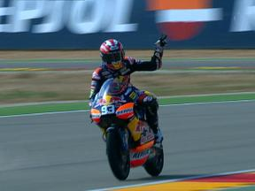 Aragon 2010 - 125cc - QP - Highlights
