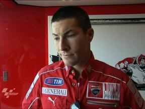 Aragón - 2010 - MotoGP - QP - Interview - Nicky Hayden