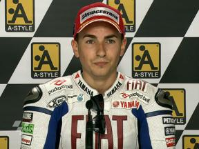 Aragon 2010 - MotoGP - QP - Interview - Jorge Lorenzo