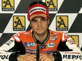 Aragon 2010 - MotoGP - QP - Interview - Dani Pedrosa
