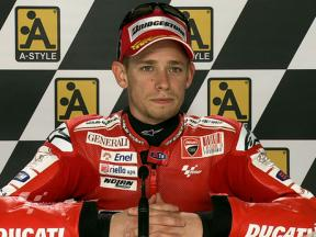 Aragon 2010 - MotoGP - QP - Interview - Casey Stoner
