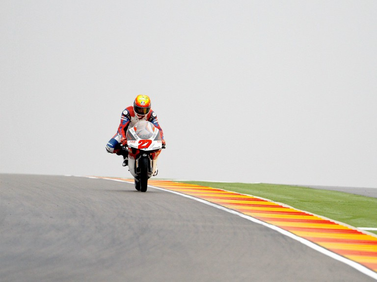 Alejandro Pardo in action at Motorland Aragón