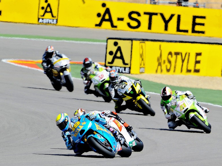 MotoGP action at Motorland Aragón