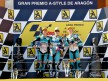 Terol, Espargaró and Smith on the podium at Motorland Aragón