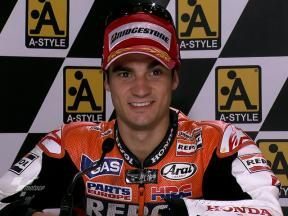 Aragon 2010 - MotoGP - Race - Interview - Dani Pedrosa