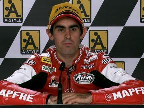 Aragon 2010 - Moto2 - Race - Interview - Julián Simón