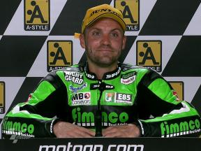 Aragon 2010 - Moto2 - Race - Interview - Gabor Talmacsi