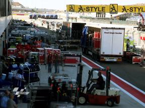 The MotoGP logistical operation intensifies