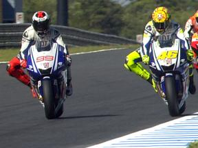 Best overtaking moves at Motegi