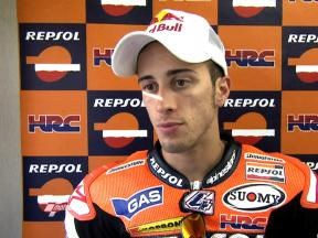 Dovizioso satisfied after first session