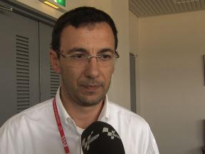 MotoGP Medical Director Dr. Michele Macchiagodena on Pedrosa's condition