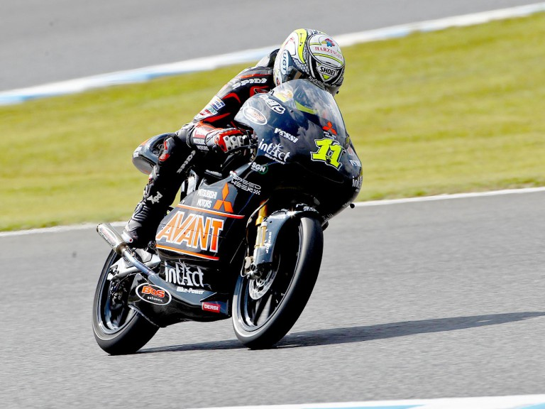 Sandro Cortese in action at Motegi