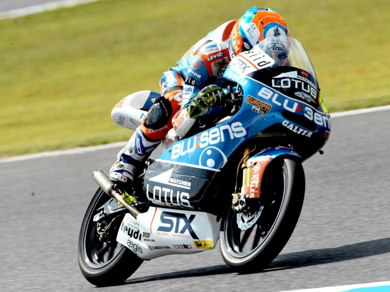 Esteve Rabat in action at Motegi