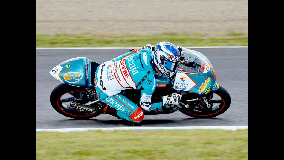 Nico Terol in action at Motegi