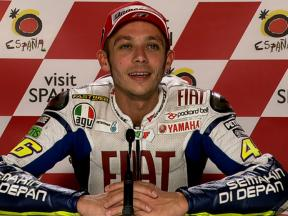 Motegi 2010 - MotoGP - QP - Interview - Valentino Rossi