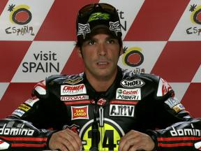 Motegi 2010 - Moto2 - QP - Interview - Toni Elías