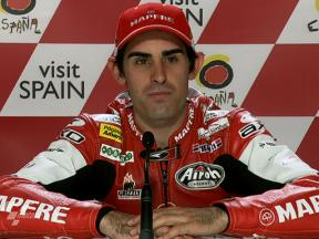 Motegi 2010 - Moto2 - QP - Interview - Julián Simón