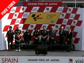 Tomizawa's memory honoured in Motegi