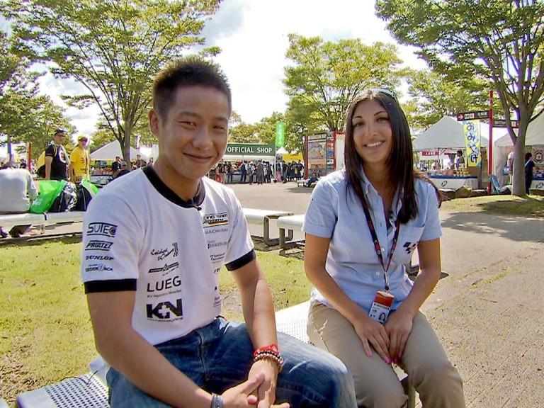 125cc Rider Tomoyoshi Koyama