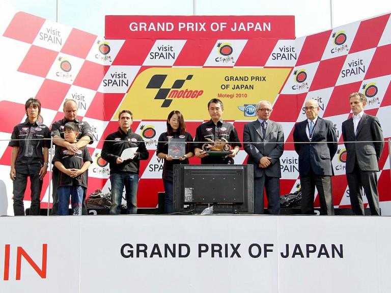 MotoGP honours Shoya Tomizawa's memory at Motegi
