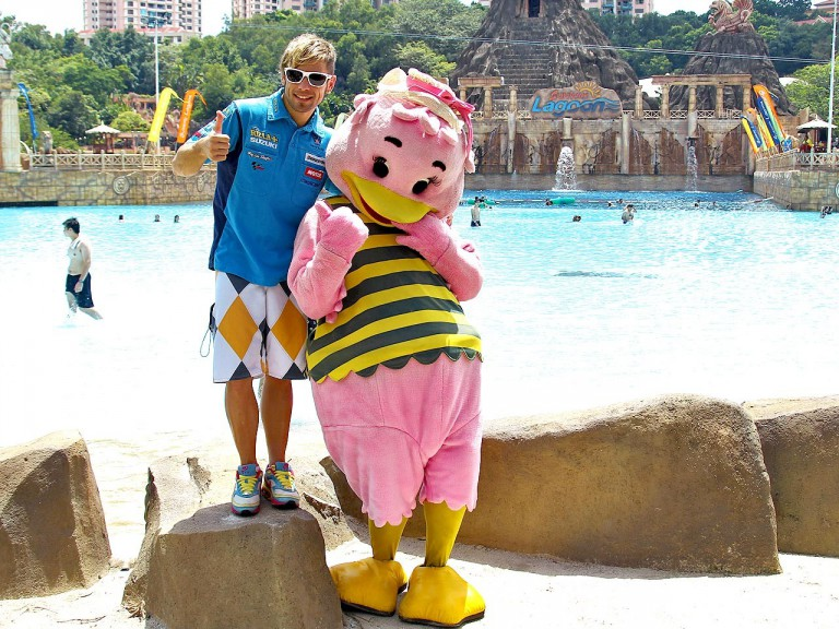 Bautista at Sunway Lagoon Extreme Park in Malaysia