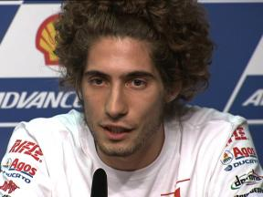 Simoncelli wants continuation of progress
