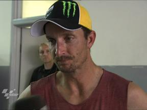 Edwards off to solid start in FP1